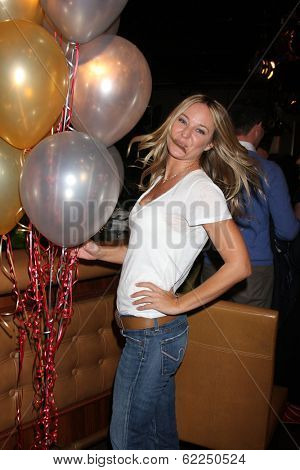 LOS ANGELES - MAR 25:  Sharon Case at the Young and Restless 41st Anniversary Cake at CBS Television City on March 25, 2014 in Los Angeles, CA
