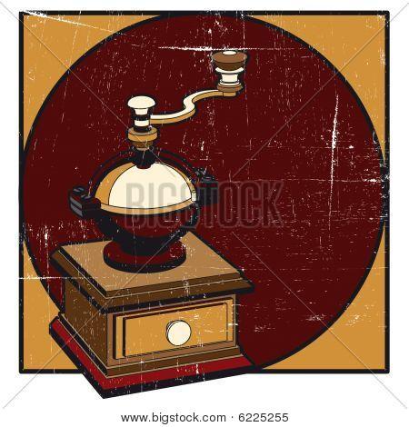Coffee Mill Grunge
