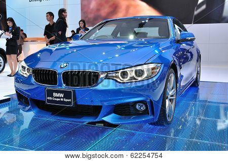Nonthaburi - March 25:new Bm 420I Coupe M Sport On Display At The 35Th Bangkok International Motor S
