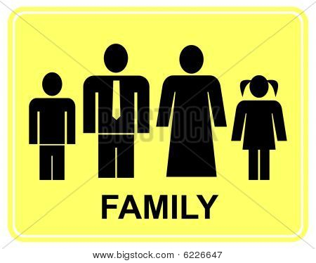 Family - sign