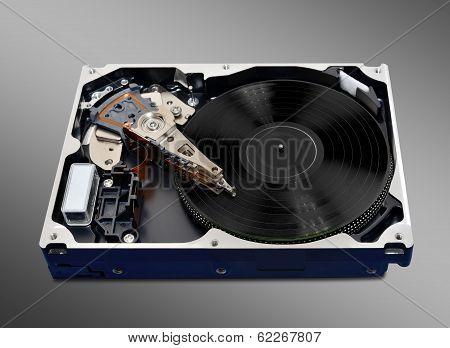 Turntable Hard Disk