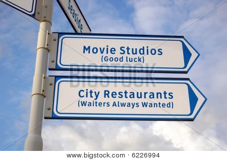 Movie Studios And Restaurants