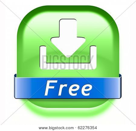 free download  button music, video movie or data downloading pdf document file icon