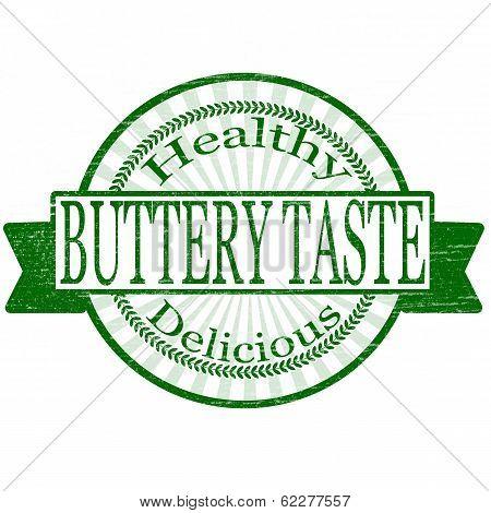 Buttery taste