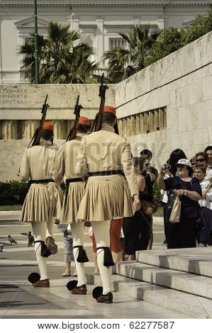Ceremonial Of Guards Parade