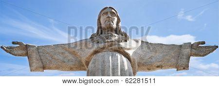 Jesus Christ Statue At Lisbon
