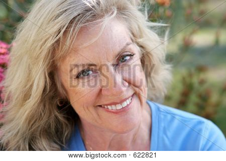 Mature Woman - Beautiful Smile