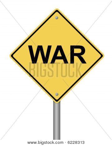 Warning Sign War