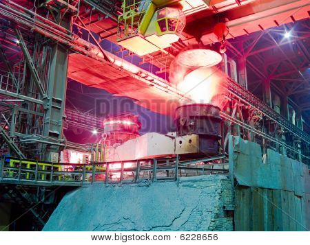 Metallurgical Plant, Industrial Production Process
