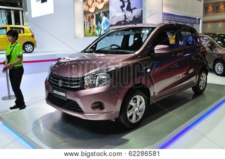 Nonthaburi - March 25: New Suzuki Celerio On Display At The 35Th Bangkok The 35Th Bangkok Internatio