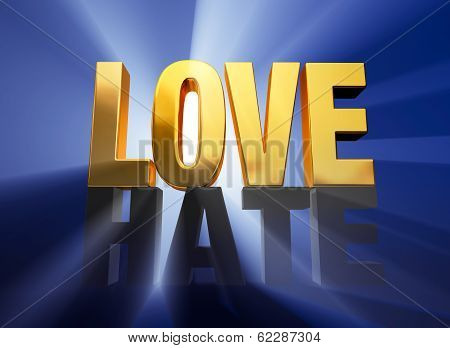 Love Vanquishes Hate