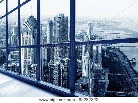 Skyscrapers In Big Cities