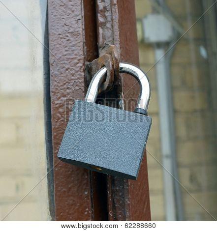 Hinged Mechanical Lock