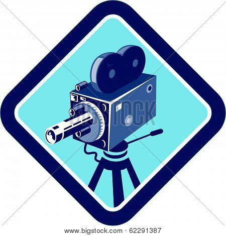 Vintage Movie Film Camera Retro