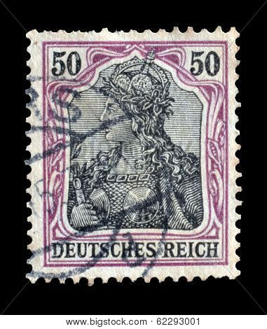 Germania stamp 1920