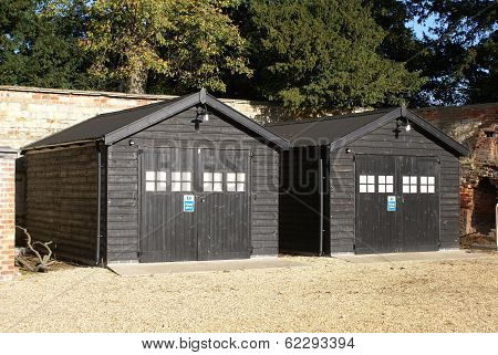 sheds. huts. storage