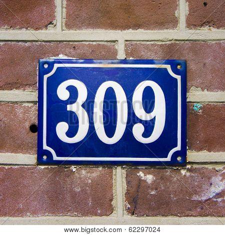 Number 309