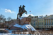 The Equestrian Monument Of Russian Emperor Peter The Great, Known As