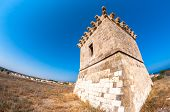 stock photo of larnaca  - The Medieval Tower at Kiti - JPG