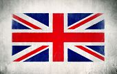 stock photo of mural  - Mural of The Union Jack - JPG