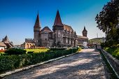 picture of dracula  - Hunyad Castle - JPG