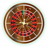 Постер, плакат: Roulette Wheel