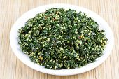 pic of malunggay  - Spinach dish with coconut  - JPG