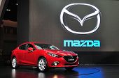 Nonthaburi - March 25: New Mazda 3 On Display At The 35Th Bangkok Thailand International Motor Expo