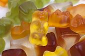 pic of gummy bear  - close up photo of multi - JPG