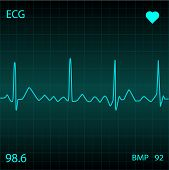 Medical Ecg, Illustration