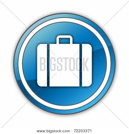 Icon, Button, Pictogram Luggage