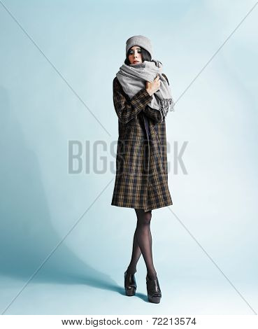 Woman And Coat