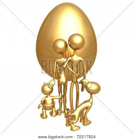 Gold Family Nest Egg