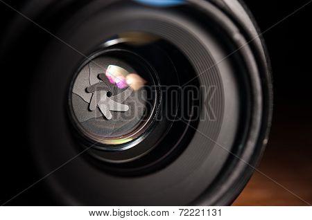 Aperture Closeup