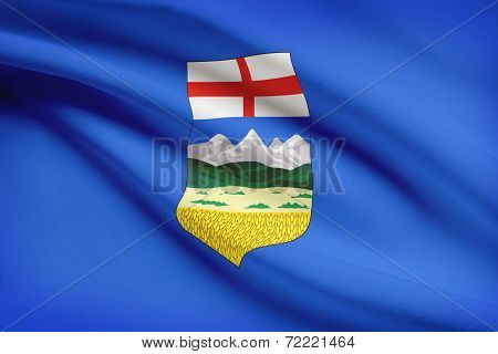 Canadian Provinces Flags Series - Alberta