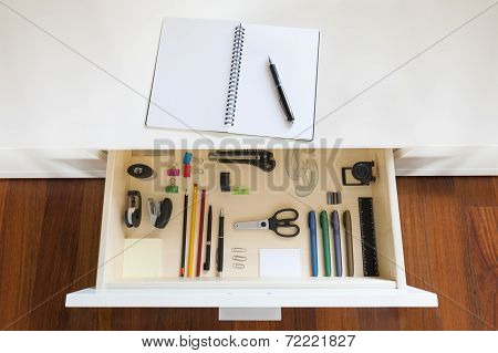 Office Supplies Drawer