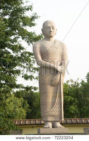Statue Of Disciple Of Buddha