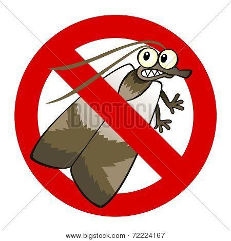Anti Moth Sign