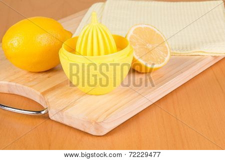 Fome Lemons On A Table