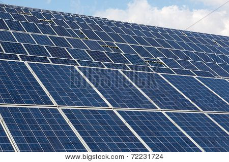 Large Solar Energy Array For Clean Electricity Production
