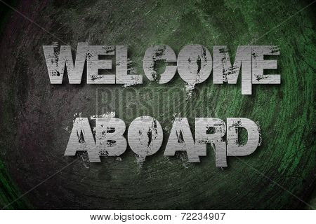 Welcome Aboard Concept