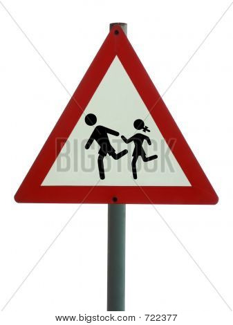 Road Sign - Children Ahead