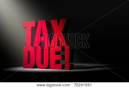 Tax Due Warning