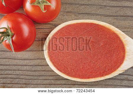 Tomato Sauce Top View