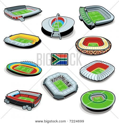 South african soccer stadiums