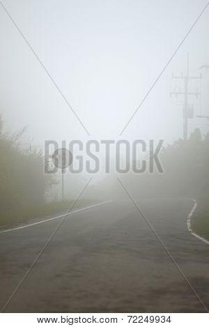 Road fog