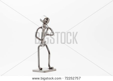 Stainless Steel Jazz Saxophone