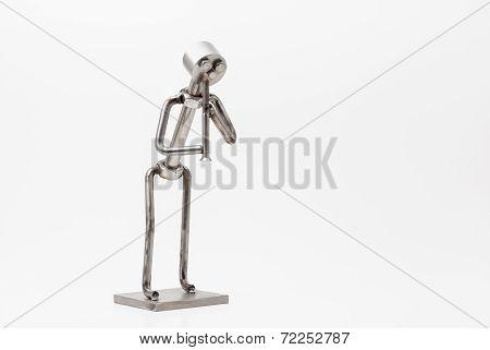 Stainless Steel Jazz Clarinet