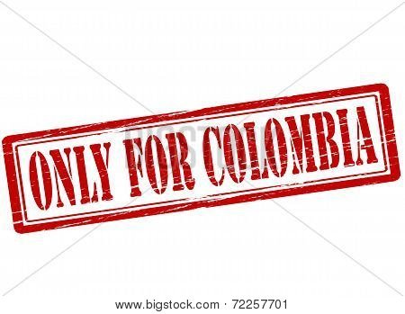 Only For Colombia
