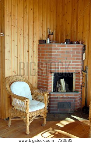 Finnish Fireplace